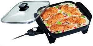 The cheapest Electric Skillet: Proctor Silex 38526